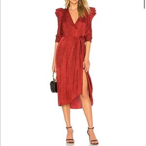 ⭐️HP⭐️ BNWT A.L.C. Carolina Wrap Dress